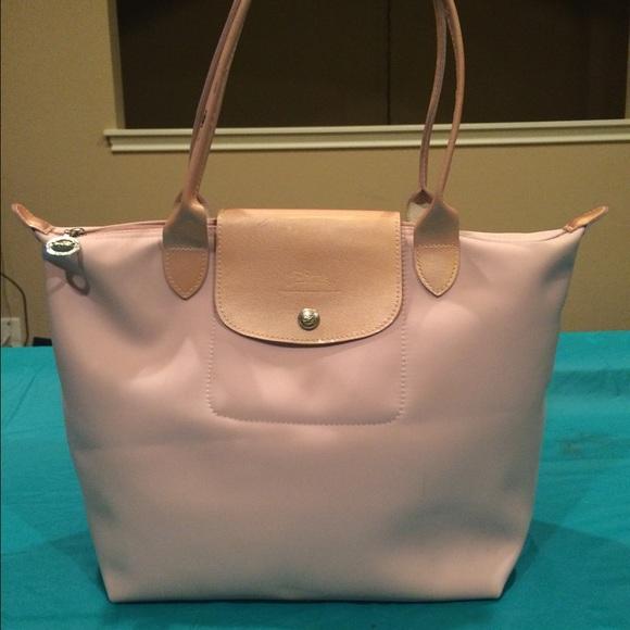 Longchamp Handbags - Longchamp Le Pliage Tote- Pale Pink aec0213d48