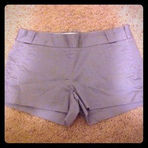 Grey side zip short