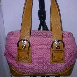 Coach hadbag and wallet
