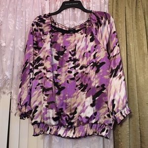 Alfani purple tops