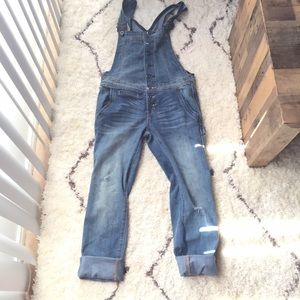 Free People Jeans - Free People Button Front Overalls *NEW*