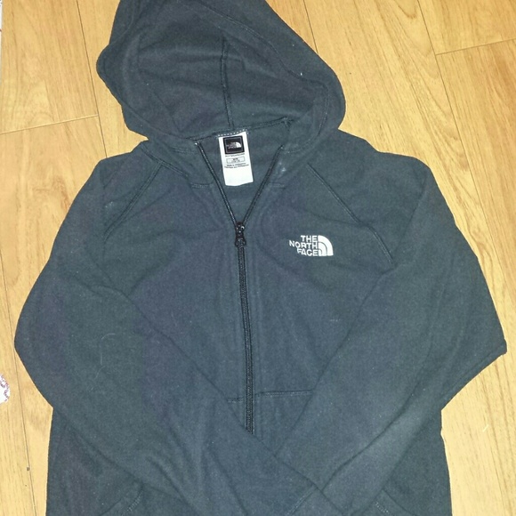 The North Face Shirts Tops Kids North Face Zipper Thin Sweater