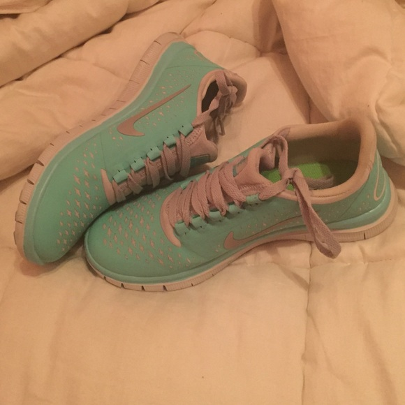 outlet on sale factory outlets good Nike Free Run 3.0 V4 Tropical Twist (Tiffany Blue)