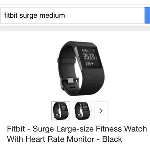 Fitbit surge fitness tracker watch nwot small fitbit bands fitbit flex