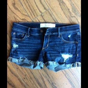 Abercrombie & Fitch Denim Shorts Sz. 00