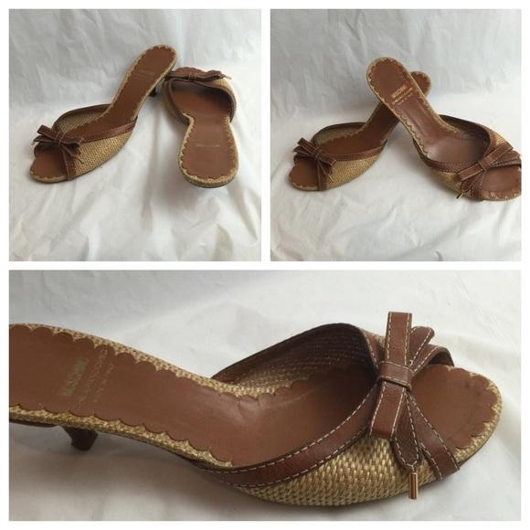 96% off Moschino Shoes - Moschino Chic & Cheap Kitten Heels Sz 38 ...