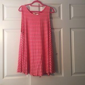 riff raff  Dresses & Skirts - stripe tank top dress
