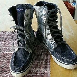 Sperry Top-Sider Shoes - Adorable Sperry  high top/ boot