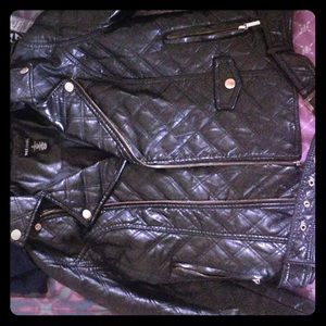 Wet Seal Leather Jacket