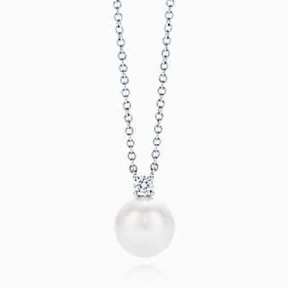 099437c13 Tiffany & Co. Jewelry   Tiffany Signature Pearl Pendant   Poshmark