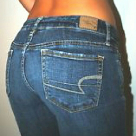 70% off American Eagle Denim - u26a0SOLDu26a0Sequin AE Sexy Skinny Kick Jeans ud83dudc95 from ud83dudc95 amyu0026#39;s closet on ...