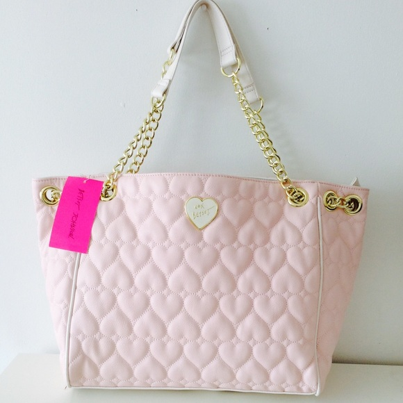 32% off Betsey Johnson Handbags - ***SOLD**Gorgeous Pink Heart ...