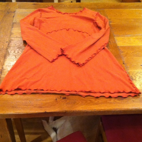 Treehouse 28 Dresses & Skirts - Long sleeve orange dress.
