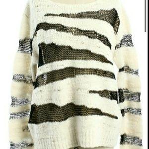 SOLD!! Alice + Olivia Sparrow Sweater