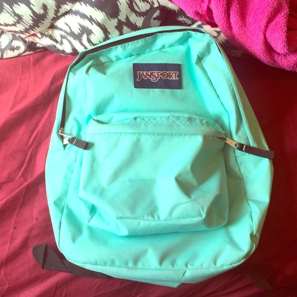 33% off Jansport Handbags - Mint green Jansport backpack! Like new ...