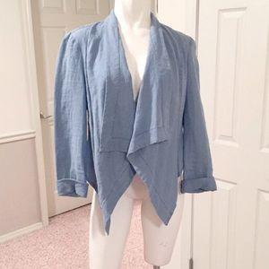 sass & bide Jackets & Blazers - Denim waterfall jacket NWOT