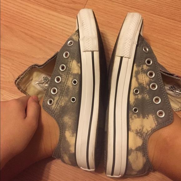 818f60a7d2fc Converse Shoes - Grey bleached converse