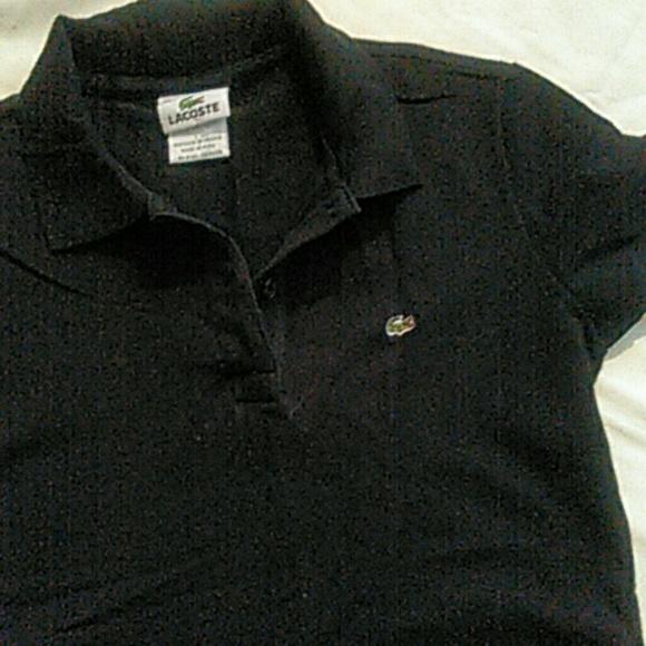 lacoste tops short sleeve shirt size 38 poshmark
