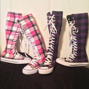 converse shoes for girls knee high