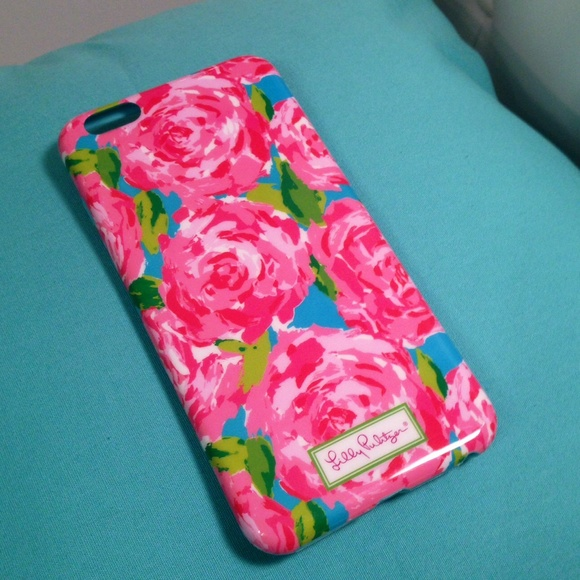 size 40 2b392 81bde Lilly Pulitzer iPhone 6 Plus Case NWT