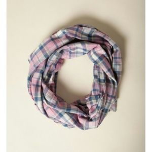 American Colors Accessories - NWT! American Colors Mediterranean Plaid Scarf