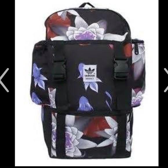 8503686de12b LOOKING FOR Adidas Originals Lotus Print Backpack