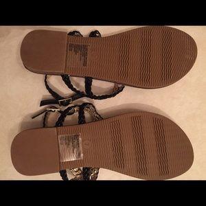 1cc8c415bd7 Merona Shoes - Target Merona Brand Black Esma Braided Sandals