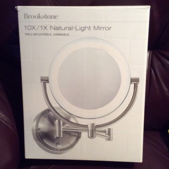 Natural Light Makeup Mirror Wall Mount