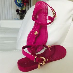 COACH Jelly Sandal
