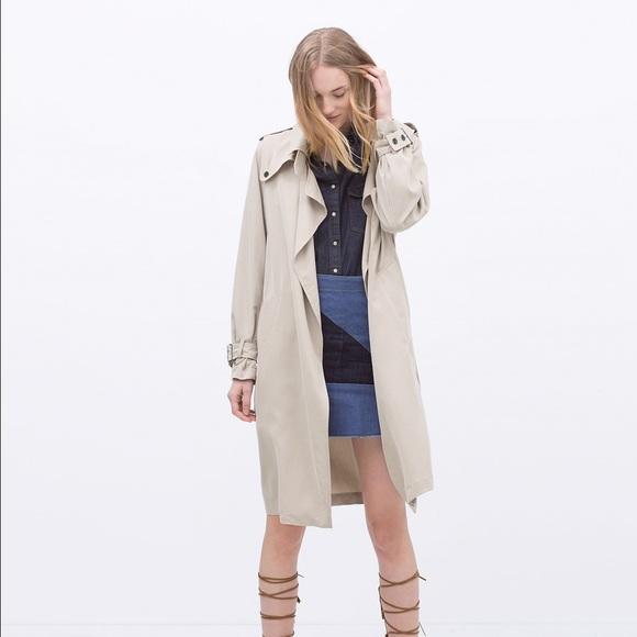 4fa1b7f0 Zara Jackets & Coats | Sold Out Oversized Trench Coat Xs Nwt | Poshmark