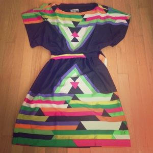 Shelby and Palmer Dresses & Skirts - NWOT Shelby and Palmer Aztec dress with belt