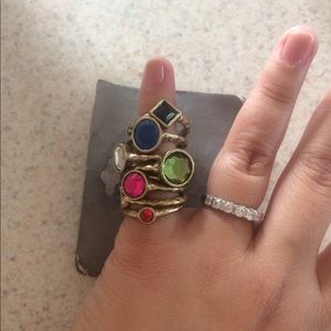 Jewelry - Multicolored rings