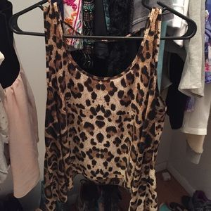 Zinga Tops - Super soft leopard top