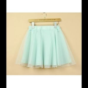 🍃🍃Cute Mint Green Skirt🍃🍃🔴SOLD🔴