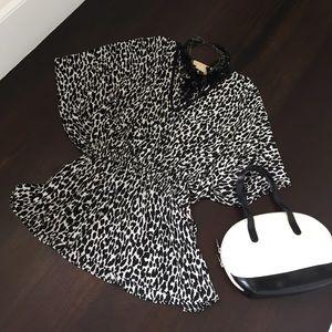 Michael Kors silk tunic.
