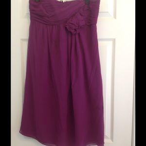 Formal strapless dress