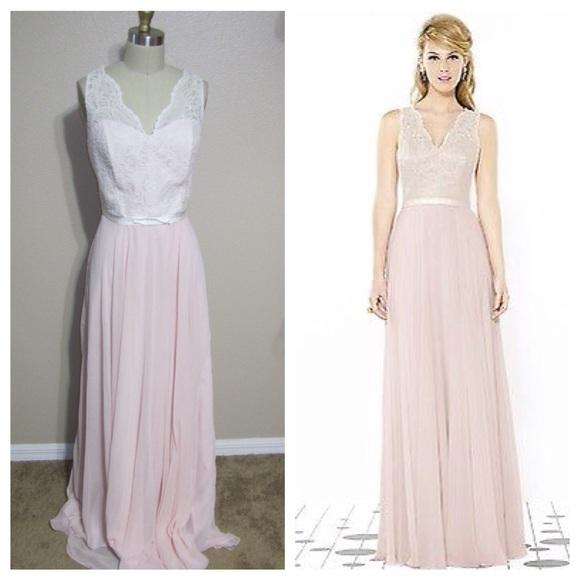 After 6 Dresses | Bridesmaid Dress Blush Pink Ivory | Poshmark