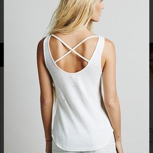 Free People We the Free Nevermind Ribbed Tank