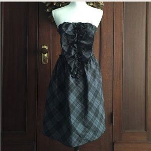 FINAL PRICE♥️ Tartan plaid taffeta dress