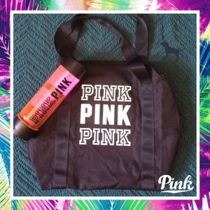 PINK duffle bag!