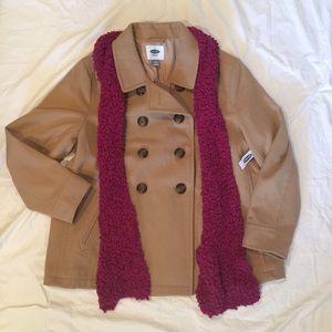Camel Old Navy Pea Coat