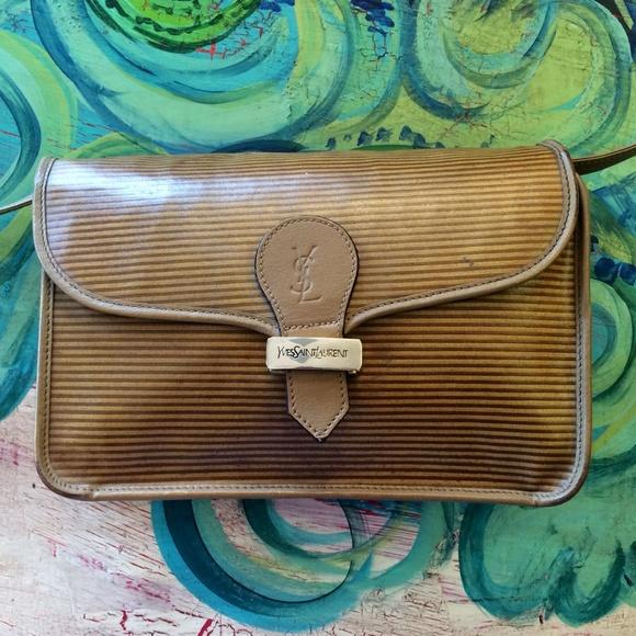 Yves Saint Laurent Bags Vintage Ysl Crossbody Bag Poshmark