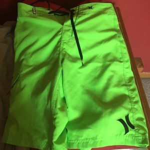Hurley board shorts bathing suit