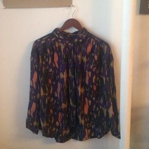 ecote (Urban Outfitters) purple button down Sz L