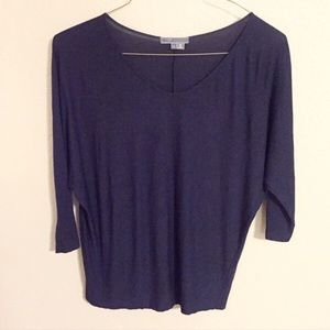 Vince Tops - ❗️SALE❗️Vince Dolman Sleeve Navy Top