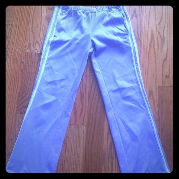 a6c3d5314749 Adidas Pants - Light Purple Adidas Pants