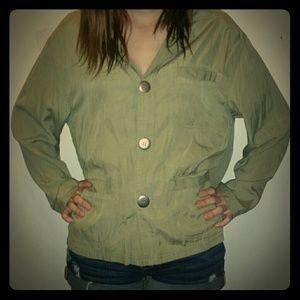 chico's design Tops - 100% pure silk button down blouse size 1
