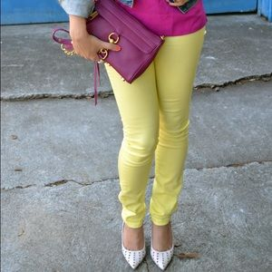 BDG Pants - Yellow High-Rise Pants