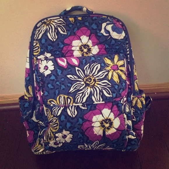 Vera Bradley Ultimate Backpack In African Violet