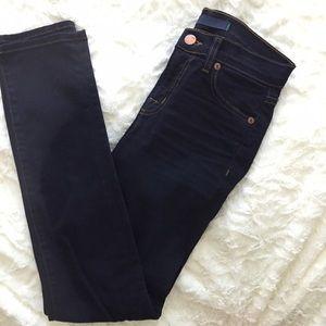 J Brand Denim - Dark Wash Classic Skinny Jeans
